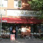 Das Café von außen