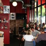 Das Café von innen